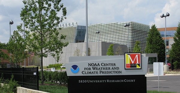 Image of the NCEP National Center for Weather and Climate Prediction, home of the Ocean Prediction Center