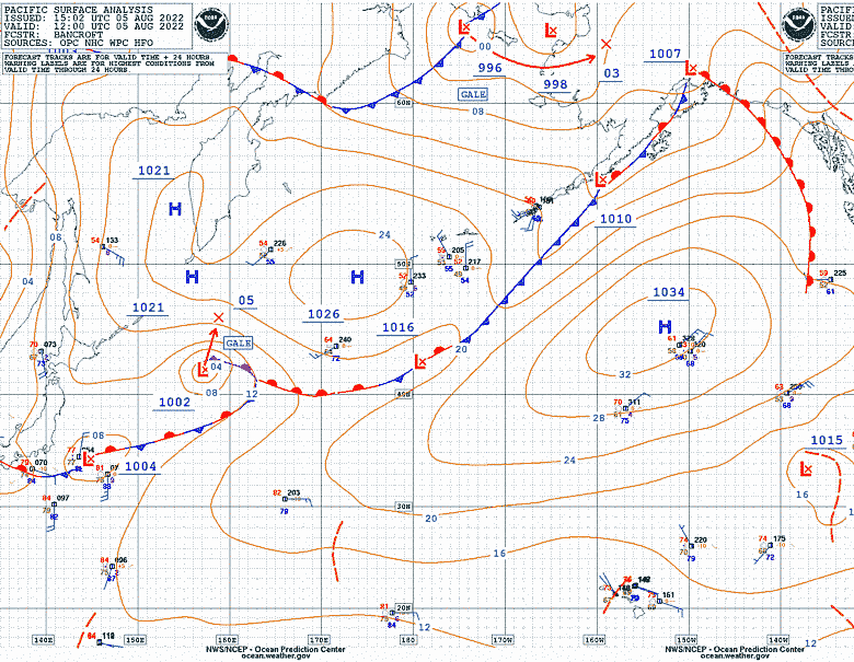 Weather Analysis and Forecasts